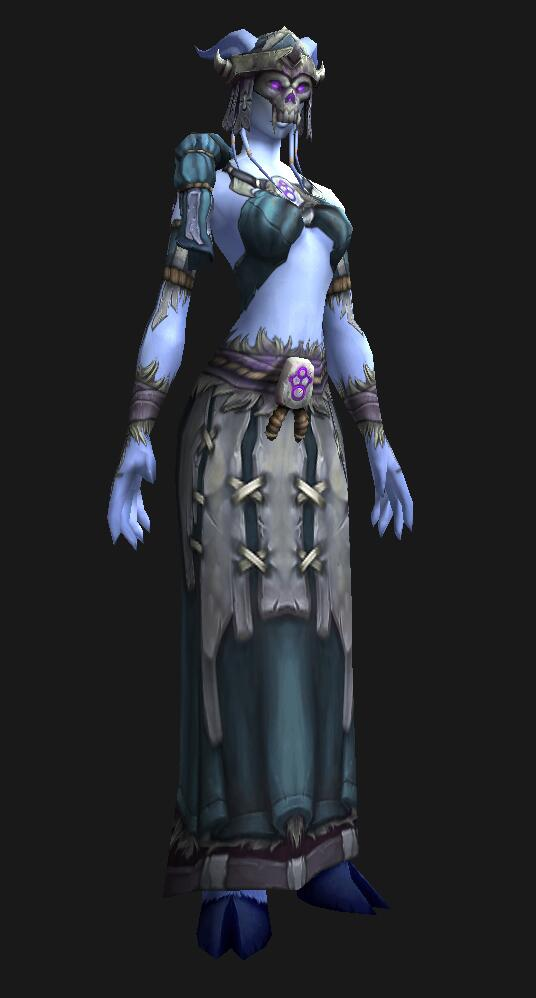 cloth_set & Pretty Fly for a Draenei
