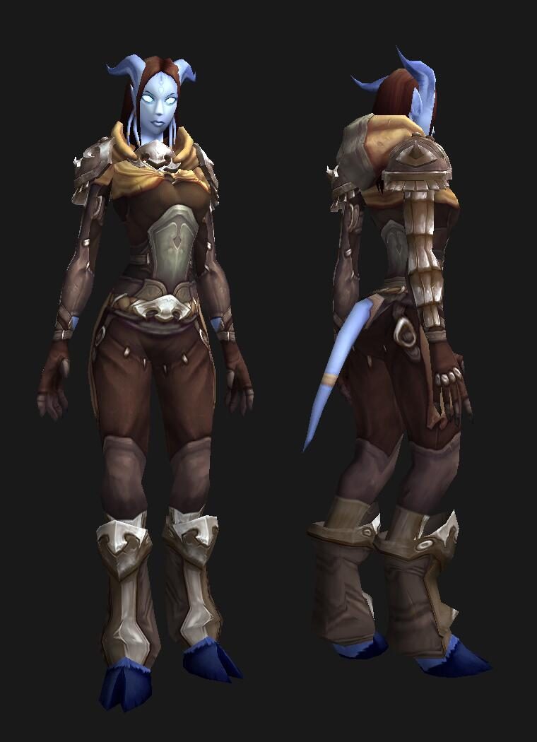 A folded hood? *swoon* & Warlords of Draenor Transmog Preview | Pretty Fly for a Draenei