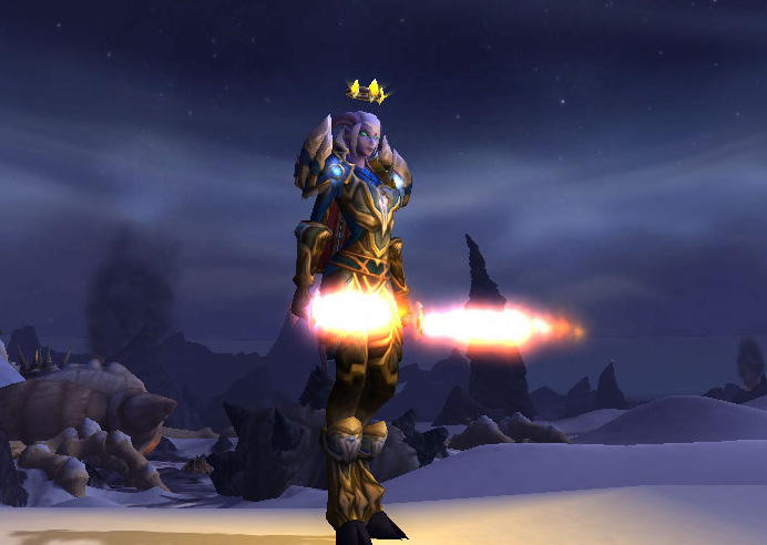 Pretty Fly For A Draenei